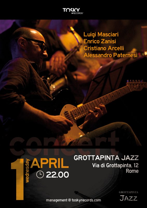 Locandina grottaPinta Jazz