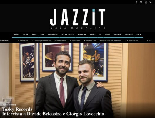 Interview with Giorgio Lovecchio and Davide Belcastro